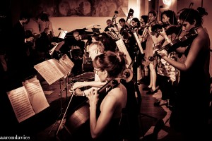 Aaron Davies' beautiful photo of the Orquesta Tipica